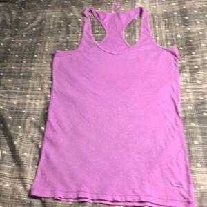 Pink  purple tan top size M women